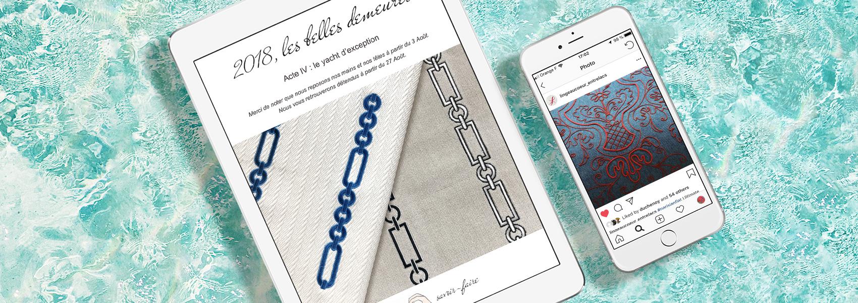 Direction artistique de la photographie, Direction artistique et communication digitale – Maison Duchénoy, Rebellis